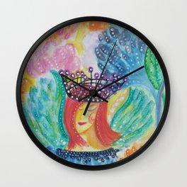 Sunrise Fairy Wall Clock
