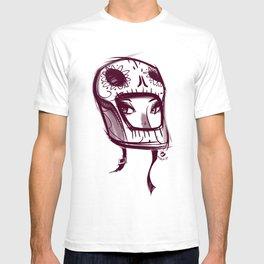 Skully Helmet T-shirt