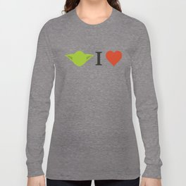 Yoda I Love Long Sleeve T-shirt