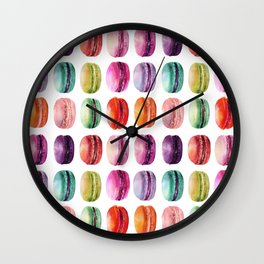 macaron lollipops Wall Clock