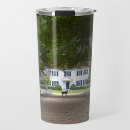 Bassett Hall in Autumn Travel Mug