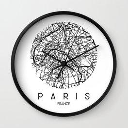 Paris Round Wall Clock