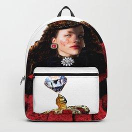 Heart  Red Queen Backpack