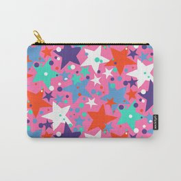 Fun ditsy print with constellations and twinkle lights Carry-All Pouch