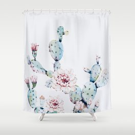 Fresh Cactus II Shower Curtain