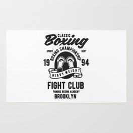 clasic boxing club Rug