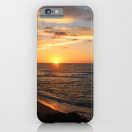Punta Mita Sunset iPhone Case