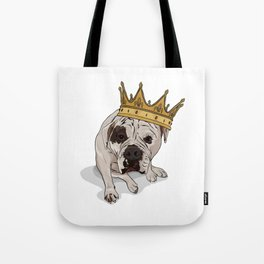 Queen Zoe Tote Bag