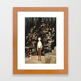 Ivo & His Mushrooms Framed Art Print