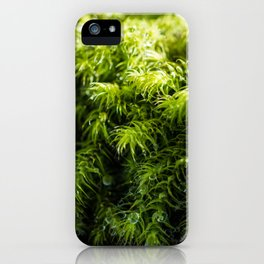 Moss iPhone Case