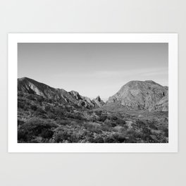 Big Bend,Texas Art Print