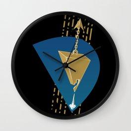 Aqua Regia Wall Clock