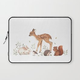 Woodland Friends Laptop Sleeve