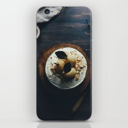 pear cake iPhone Skin