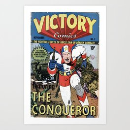 Victory Comics The Art Print