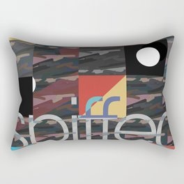 patch camo (extend) Rectangular Pillow