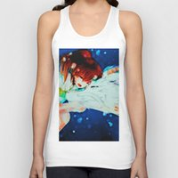 spirited away Tank Tops featuring Spirited Away by ALynnArts