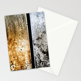 Summer and Winter Mold Abstract Stationery Cards