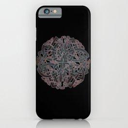 Viking pagan design #7 iPhone Case