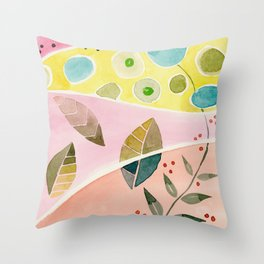 watercolor Throw Pillow