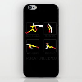 One Punch Man Workout iPhone Skin