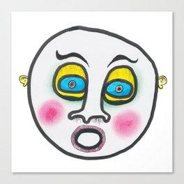 Blushing fool! Canvas Print