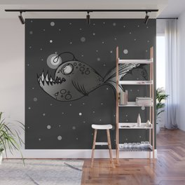Lantern Fish Wall Mural
