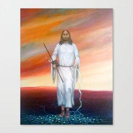 His Spirit Canvas Print