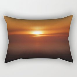 The Golden Hour Rectangular Pillow