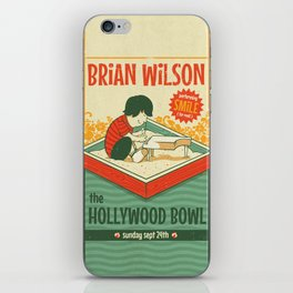Smile Live at the Hollywood Bowl iPhone Skin