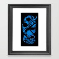 Le mangeur - the print! Framed Art Print