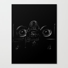 A-10 In the shadows Canvas Print