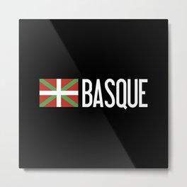 Basque Country: Basque Flag & Basque Metal Print