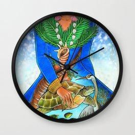 maldivian Wall Clock
