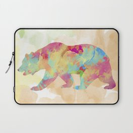 Abstract Bear Laptop Sleeve