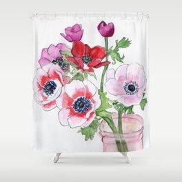 Florescence Shower Curtain