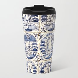 Dutch Delft Blue Tiles Travel Mug