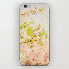 Country Lane Flowers iPhone Skin