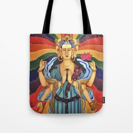 Buddha of Compassion Tote Bag