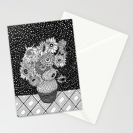 Van Gogh - Sunflowers Stationery Cards