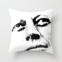jfk Throw Pillows featuring JFK by Mullin