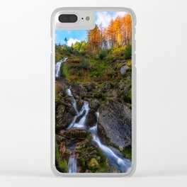 Waterfall in Ireland (RR 253) Clear iPhone Case