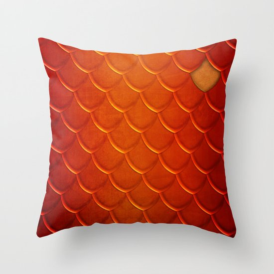 Smaug Throw Pillow