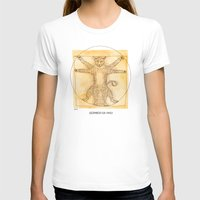da vinci T-shirts featuring Leopardo da Vinci by Nanu Illustration
