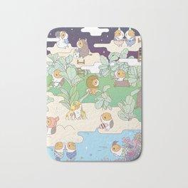 Bubu Horoscope Land Bath Mat