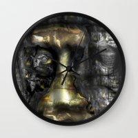 camus Wall Clocks featuring Camus by John Hansen