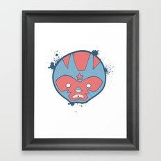 lucha! Framed Art Print