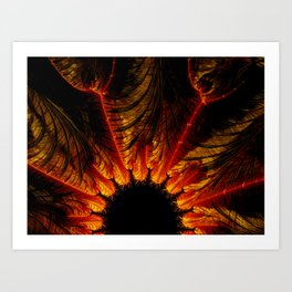 Unbridgeable Chasm-x Art Print