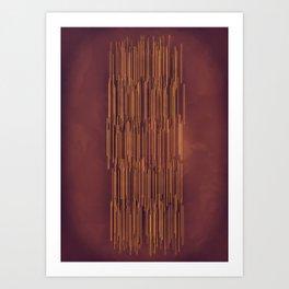 Molten Embers Art Print