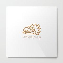 Cuāuhpipiltin Metal Print